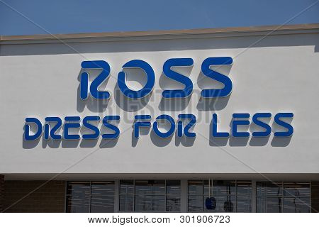 Whitestown - Circa May 2019: Ross Dress For Less Retail Store. Ross Stores Continues Its Aggressive