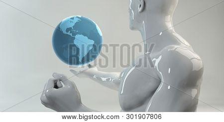 Enterprise Software Solutions for Global Coverage Project Management 3D Render