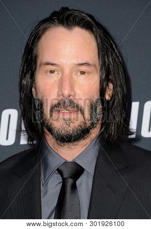 Keanu Reeves at the Los Angeles premiere of 'John Wick: Chapter 3 - Parabellum' held at the TCL Chinese Theatre in Hollywood, USA on May 15, 2019.
