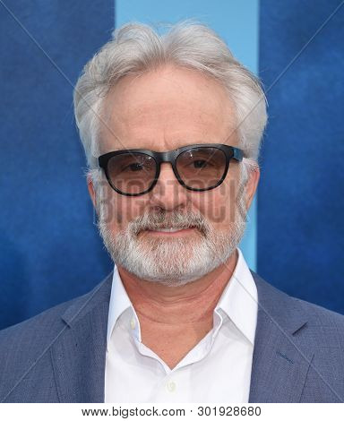 LOS ANGELES - MAY 18:  Bradley Whitford arrives for the 'Godzilla: King of the Monstersl' Hollywood Premiere on May 18, 2019 in Hollywood, CA