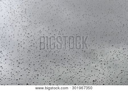 Glass And Rain Drops, Raindrops On Glass, A Nice Way Raindrops On Glass,