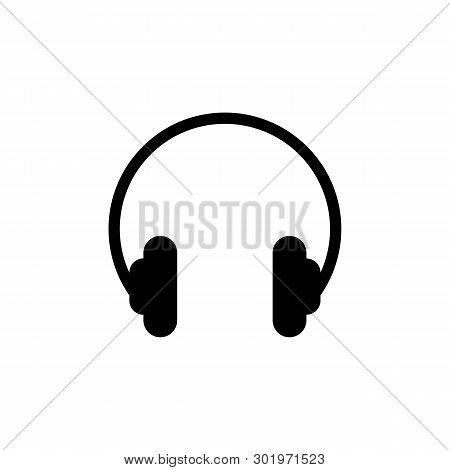 Headphones Icon Isolated On White Background. Headphones Icon Simple Sign. Headphones Icon Trendy An