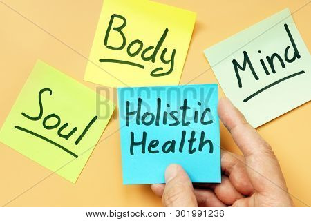Cards Holistic Health, Mind, Body And Soul.