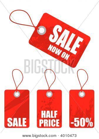 Blank Sales Tags