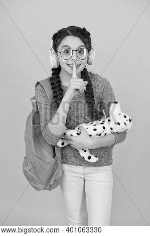 Girl Little Schoolgirl. Modern Schoolgirl Daily Life. Private Schooling. Diverse Learning Environmen