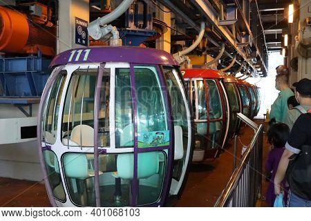 Ocean Park Cable Car Terminal , Wong Chuk Han 18 Nov 2020