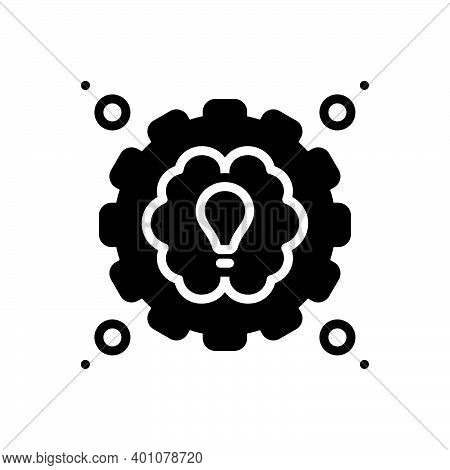 Black Solid Icon For Practical Usual Functional Practicable Conceptual Expert Performance Idea Funct