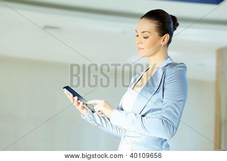 portrait of a confident young businesswoman