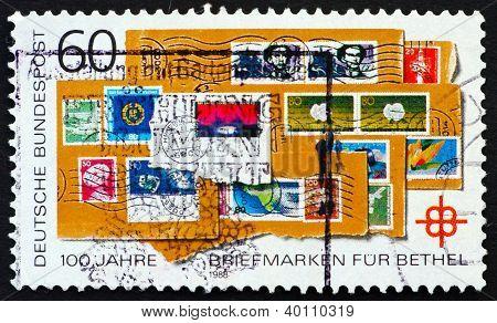 Postage Stamp Germany 1978 Postage Stamps For Bethel Program