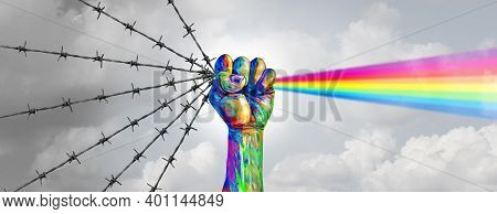Social Justice Change And Peaceful Protest Or Protester Unity As A Fist Of Diversity As A Nonviolent