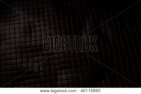 brown leather 3d cube background texture