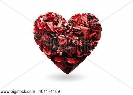 Heart As Symbol Of Valentines Day. Heart Health, Donation, Volunteer Charity, Csr Social Responsibil