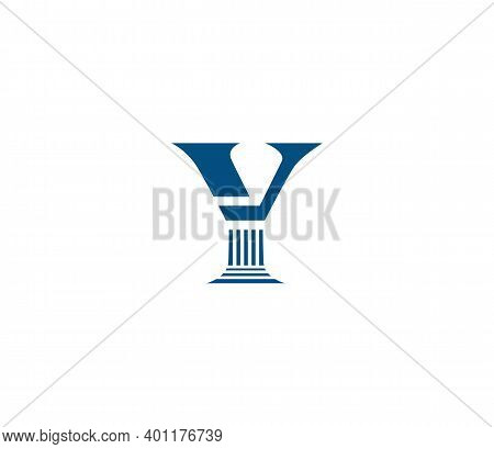 Y Alphabet Law Firm Logo Design Concept