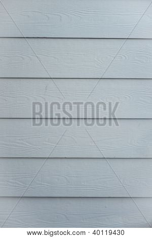 Wooden House Siding