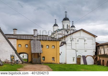 Church Of Transfiguration In Kirillo-belozersky Monastery, Russia