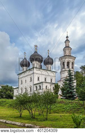 Church Of St. Nicholas In Vladychnaya Sloboda In Vologda, Russia