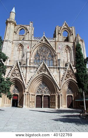 Facade Of Cathedral
