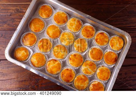 Empada Or Empadinha Is A Very Popular And Traditional Snack Of Brazilian Cuisine, It Is A Small Savo