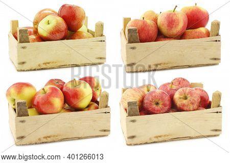 Fresh Braeburn apples,new Dutch apple variety called