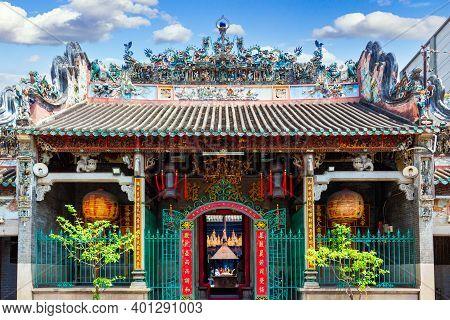 Ho Chi Minh City, Vietnam - March 28, 2019: Thien Hau Temple Or Officially The Ba Thien Hau Pagoda I