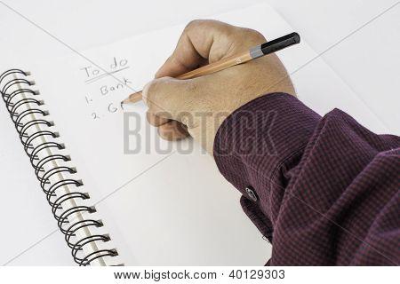 Hand Writing List