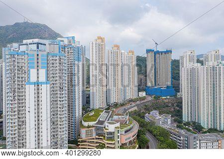 7 Oct 2019 Kowloon Bay. Modern Skyscrapers In Finance Urban