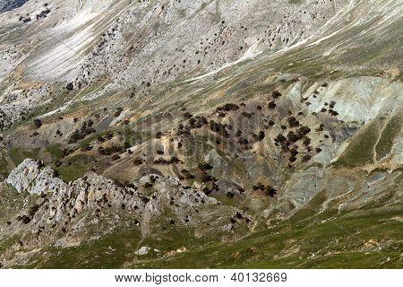 High Mountain Slope