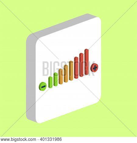 Volume Adjustment Simple Vector Icon. Illustration Symbol Design Template For Web Mobile Ui Element.