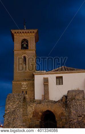 Parish Church Of Santa Maria De Los Alcazares. Maqueda. Toledo. Castilla La Mancha. Spain.