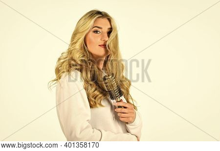 Professional Equipment. Easy Hairdo. Beauty Supplies. Bristles Perfectly Untangle Curly Hair. Hot Cu