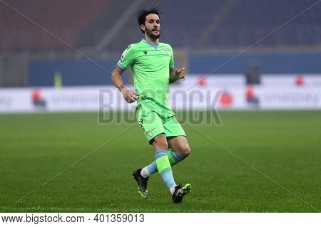 Milano, Italy. 23th December 2020. Luis Alberto Of Ss Lazio  During The Serie A Match Between Ac Mil