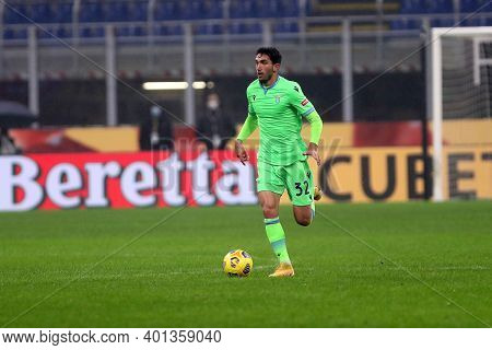 Milano, Italy. 23th December 2020. Danilo Cataldi Of Ss Lazio  During The Serie A Match Between Ac M
