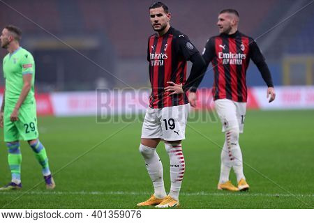 Milano, Italy. 23th December 2020. Theo Hernandez Of Ac Milan  During The Serie A Match Between Ac M