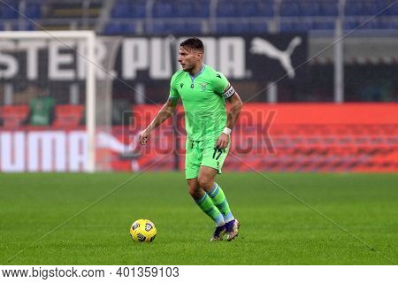 Milano, Italy. 23th December 2020. Ciro Immobile Of Ss Lazio  During The Serie A Match Between Ac Mi