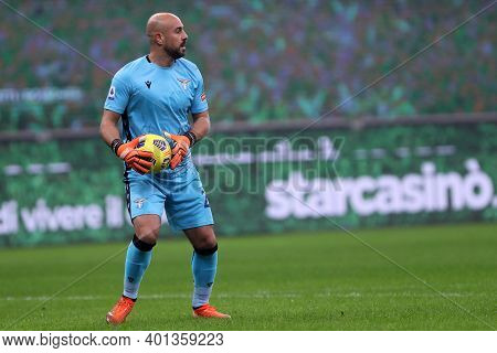 Milano, Italy. 23th December 2020. Pepe Reina Of Ss Lazio  During The Serie A Match Between Ac Milan