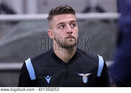 Milano, Italy. 23th December 2020. Sergej Milinkovic-savic Of Ss Lazio  During The Serie A Match Bet