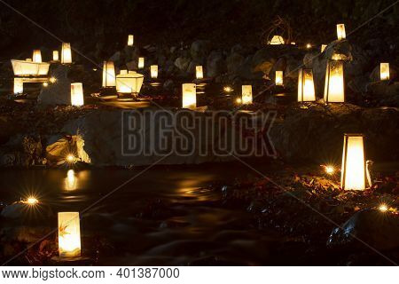 Flow Into The River A Lantern Memorial Service For The Ancestors