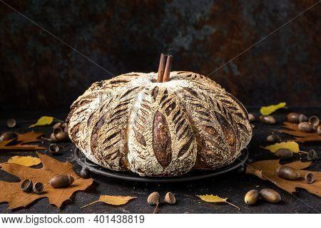 Pumpkin Sourdough Bread - A Speciality Bake For Fall