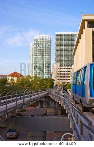 Urban Elevated Train