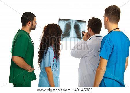 Doctors Examine Xray
