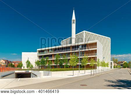 Ljubljana - April 2020, Slovenia:: The Islamic Religio-cultural Center (also Known As Ljubljana Mosq
