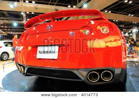 Nissan Gtr On Display