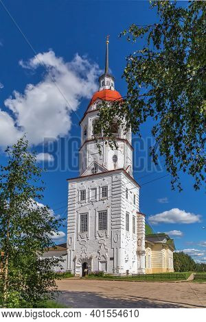 Bell Tower Of Church Of The Assumption, Totma, Russia