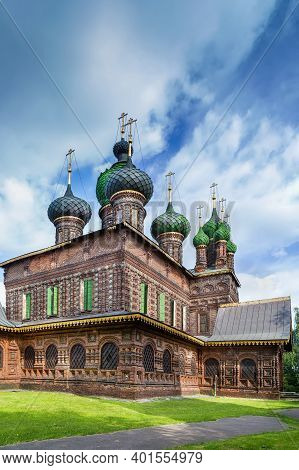 St. John The Baptist Church In Yaroslavl, Russia
