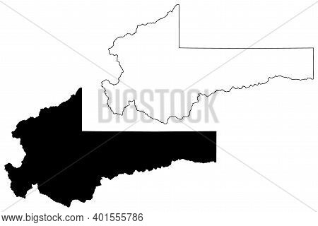 Summit County, State Of Utah (u.s. County, United States Of America, Usa, U.s., Us) Map Vector Illus