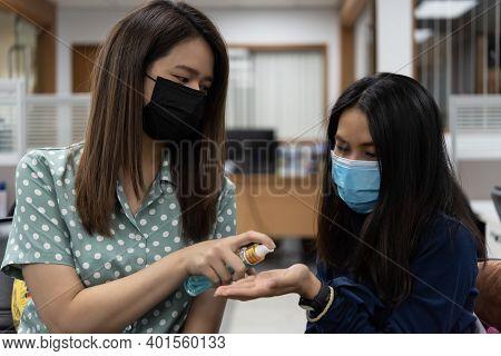Women Wearing Mask Protection Epidemic Flu Covid19