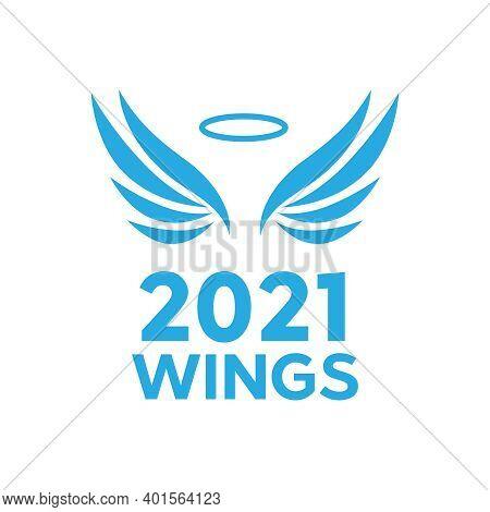 Vector Wings Isolated. Cartoon Tattoo And Vintage Heraldic Wing Set. Set Of Heraldic Wings Or Angel