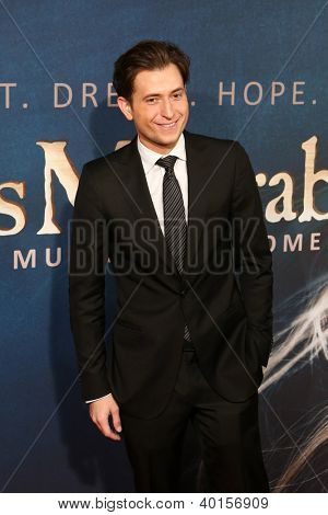 NEW YORK-DEC 10: Peter Cincotti attends the premiere of