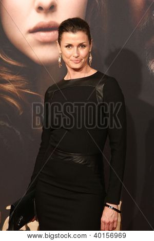 NEW YORK-DEC 10: Actress Bridget Moynahan attends the premiere of