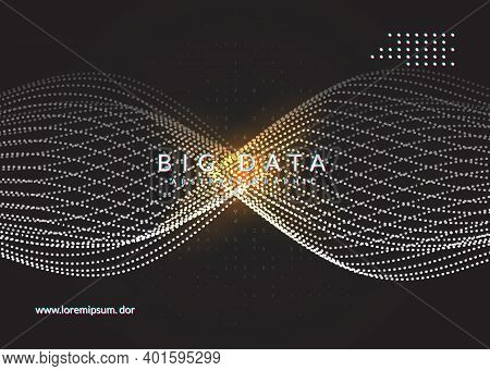 Artificial Intelligence Tech Background. Digital Technology, Deep Learning And Big Data Concept. Abs